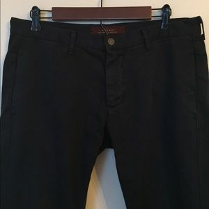 Zara Black Skinny Pants 32x33
